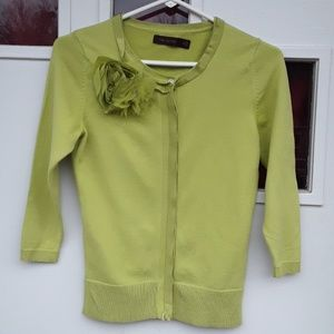 The Limited green sweater sz xs